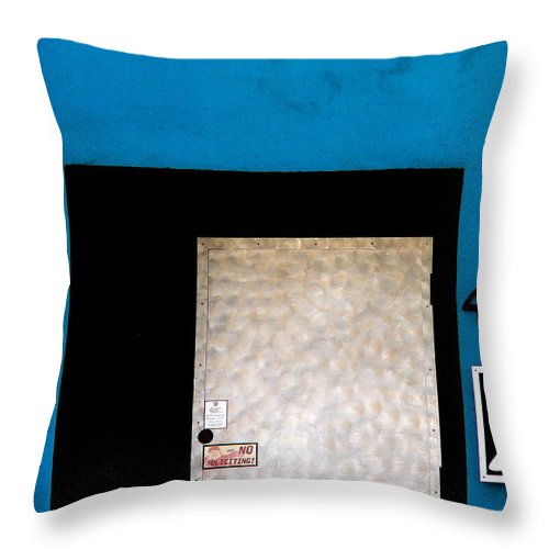 4049 Throw Pillow featuring the photograph 4049 X by Jeff Lowe