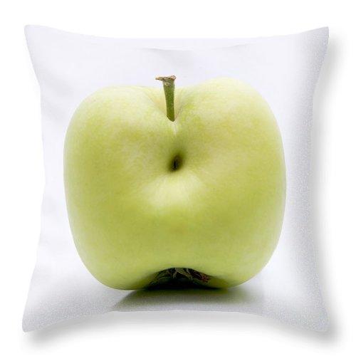 Agriculture Throw Pillow featuring the photograph Apple by Bernard Jaubert