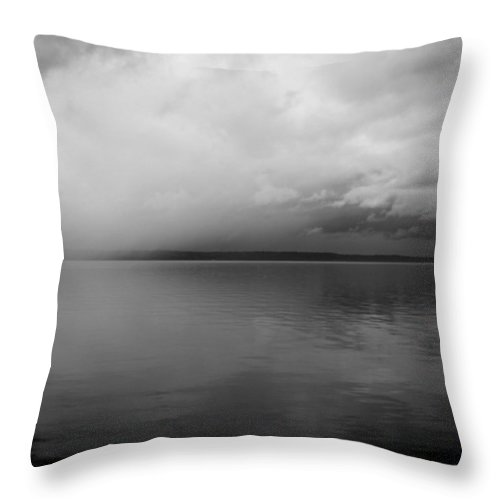 Lake Throw Pillow featuring the photograph A View South Sound II by Kathleen Grace