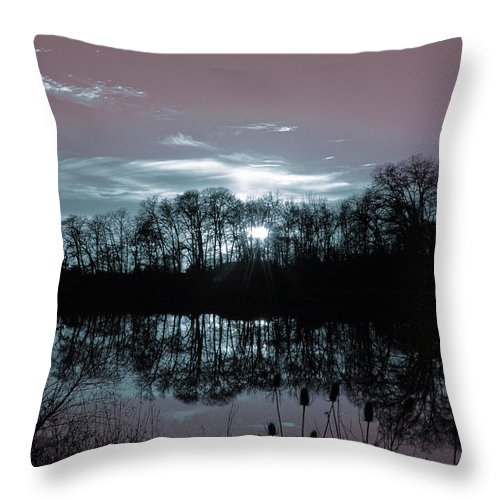 Surreal Throw Pillow featuring the photograph A Waking Dream by Bonnie Bruno