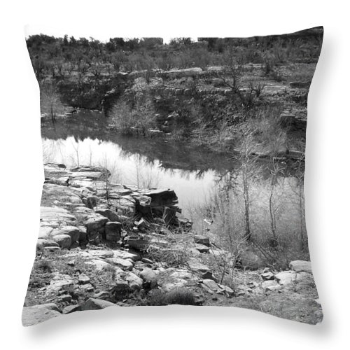 Lake Throw Pillow featuring the photograph Abiquiu Lake by Grace Art Photography