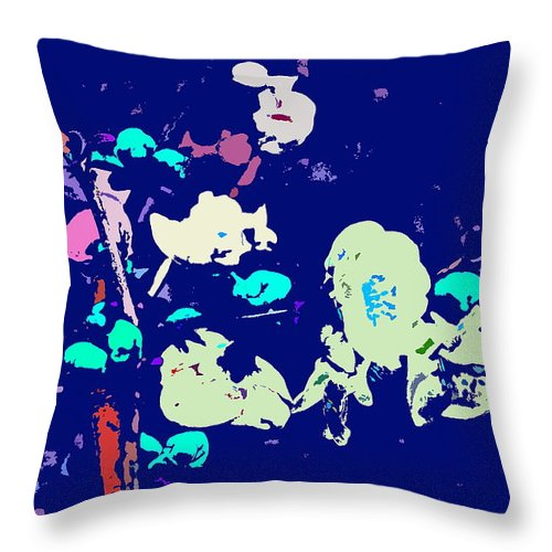 Abstract Throw Pillow featuring the photograph Abstract 179 by Pamela Cooper