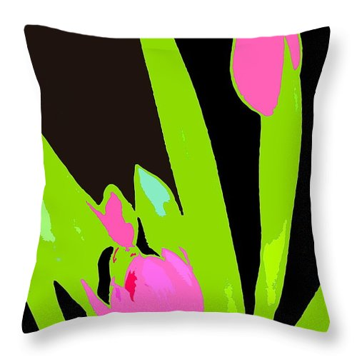 Abstract Throw Pillow featuring the photograph Abstract 185 by Pamela Cooper