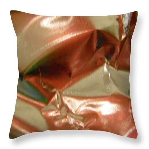Pink Throw Pillow featuring the photograph Abstract 2131 by Stephanie Moore