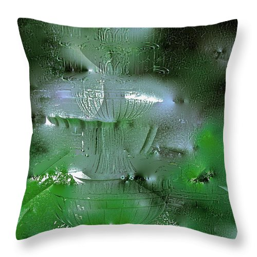 Abstract Throw Pillow featuring the photograph Abstract 51 by Pamela Cooper