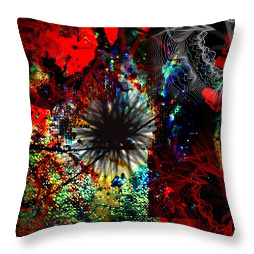 Photographs Framed Prints Framed Prints Throw Pillow featuring the photograph Abstracted by The Artist Project