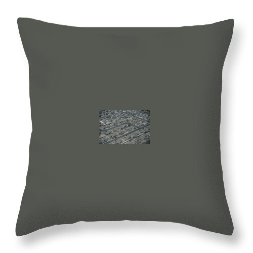 Throw Pillow featuring the photograph Aerial View Of Suburban by National Geographic