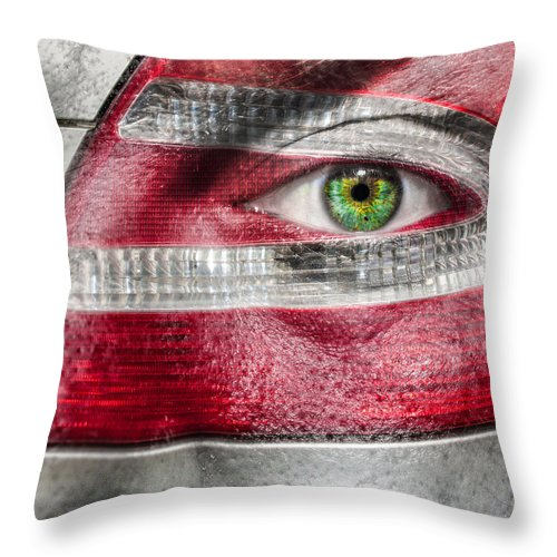 Art Throw Pillow featuring the photograph Alive Inside by Semmick Photo