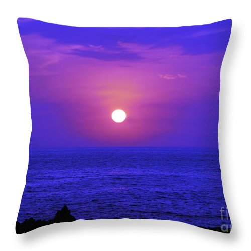 Fine Art Photography Throw Pillow featuring the photograph Aloha Iv by Patricia Griffin Brett