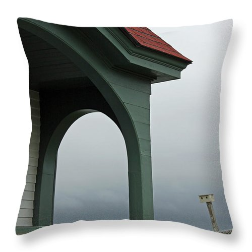 Maine Throw Pillow featuring the photograph Along The Coast Of Maine IIi by Suzanne Gaff