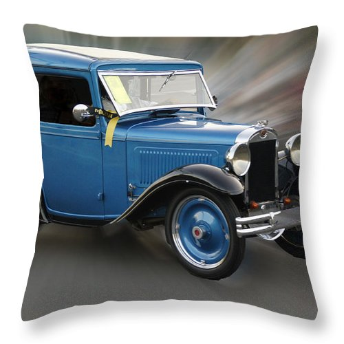 American Austin Throw Pillow featuring the photograph American Austin by Mick Anderson