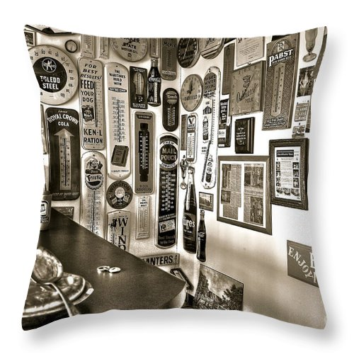 Pie Throw Pillow featuring the photograph American Pie by Brenda Giasson