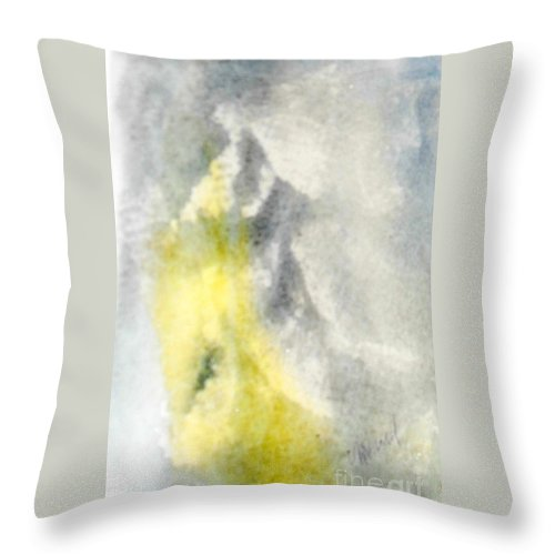 Angel Throw Pillow featuring the painting Angel All Around by Vicki Housel