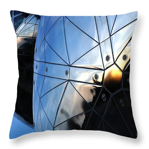 Art Throw Pillow featuring the photograph Art In Architecture 5 by Bob Christopher