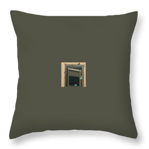 Another Allegory Throw Pillow featuring the painting As Time Goes By by Robert Smith
