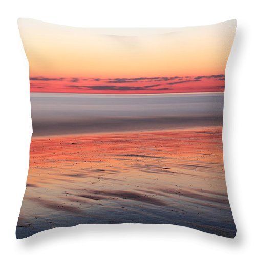 Dawn Throw Pillow featuring the photograph Atlantic Dawn by Roupen Baker