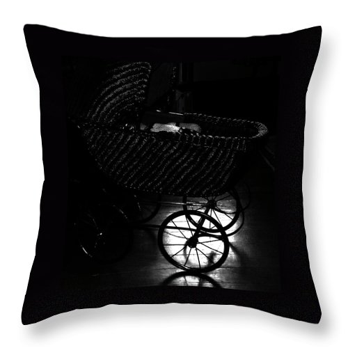 Throw Pillow featuring the photograph Baby Ride by The Artist Project