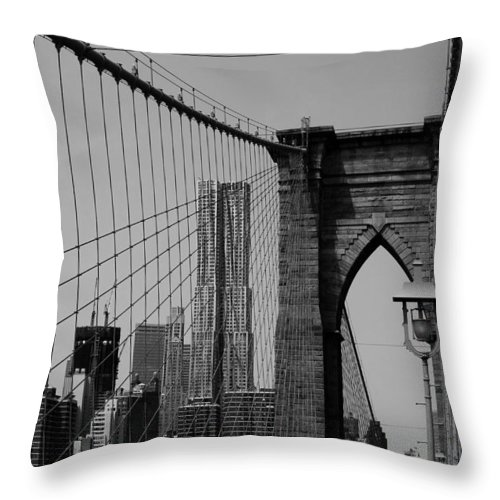 Beekman Throw Pillow featuring the photograph Beekman Tower by Andrew Fare