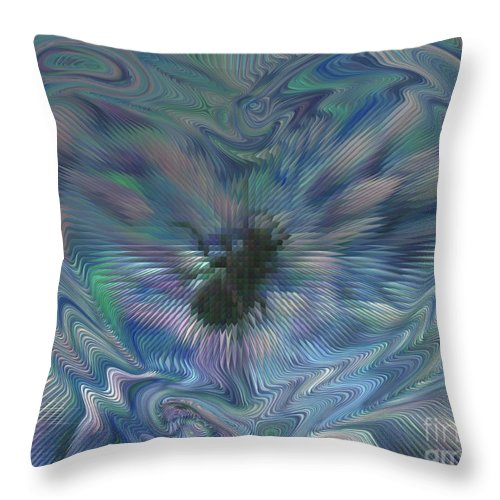 Insect Throw Pillow featuring the photograph Beetle Love by Donna Brown