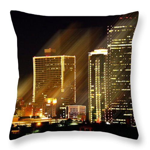 Throw Pillow featuring the photograph Blink by Elizabeth Hart