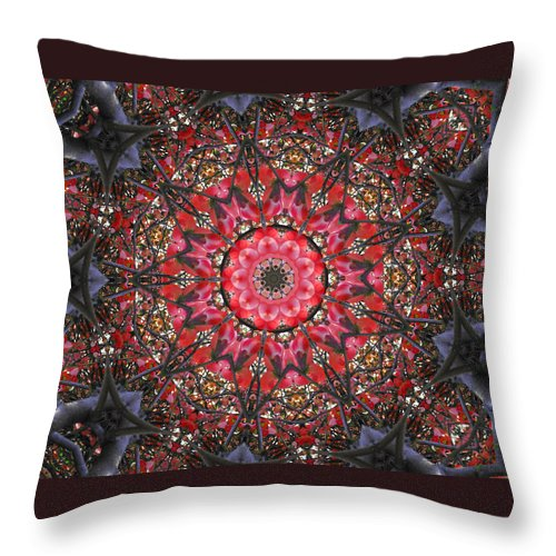 Dogwood Throw Pillow featuring the photograph Blossoms And Branches by Kristie Bonnewell