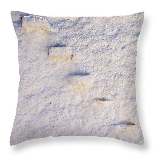 Jouko Lehto Throw Pillow featuring the photograph Blue Line by Jouko Lehto