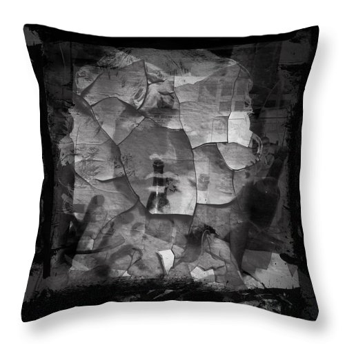 Photographs Framed Prints Throw Pillow featuring the photograph Boxed Note by The Artist Project