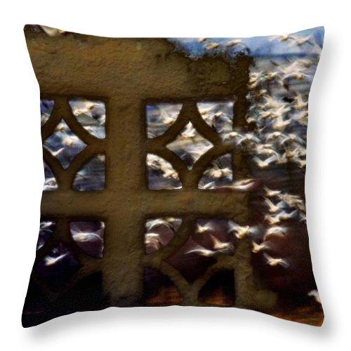 Animals Throw Pillow featuring the digital art Breaking Free by Gun Legler