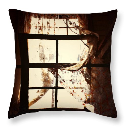 Summer Throw Pillow featuring the photograph Breath Of Pain by The Artist Project