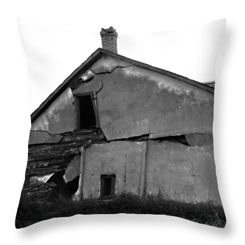 Sky Throw Pillow featuring the photograph Broken Toy by The Artist Project