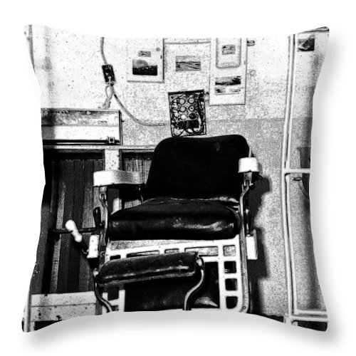 Brushy Mountain State Penitentiary Throw Pillow featuring the photograph Brushy Mountain 2 by Paul Mashburn