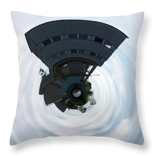 Jouko Lehto Throw Pillow featuring the photograph Built Up by Jouko Lehto
