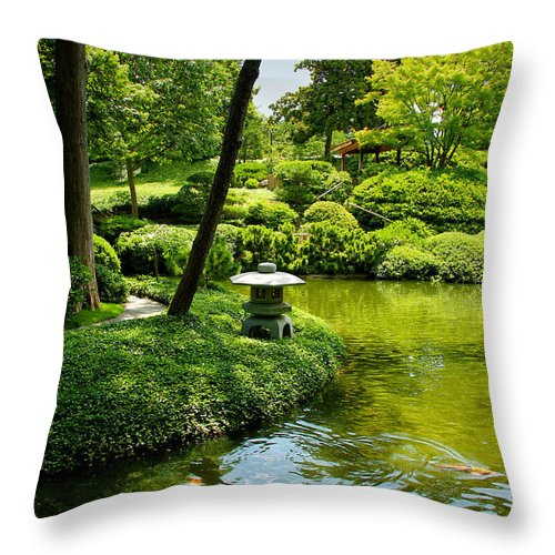 Calming Waters Throw Pillow featuring the photograph Calming Waters by Rachel Cohen