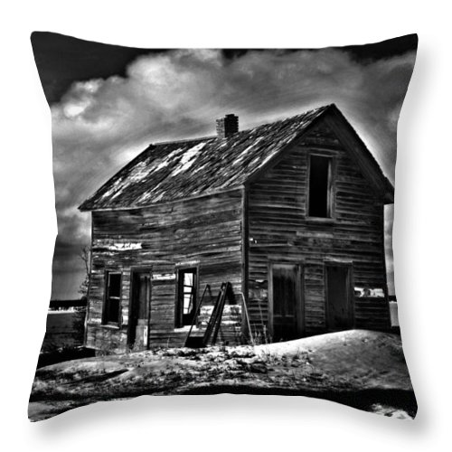 Decay Throw Pillow featuring the photograph Captains Wind by The Artist Project
