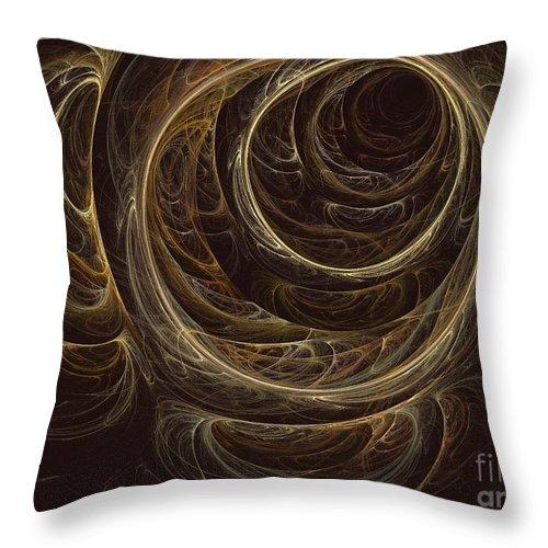 Apophysis Throw Pillow featuring the digital art Cassiopeia by Kim Sy Ok