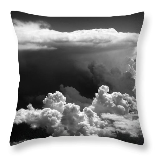 Clouds Throw Pillow featuring the photograph Cb1.020250 by Strato ThreeSIXTYFive