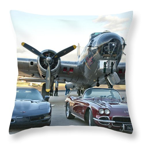 Throw Pillow featuring the photograph Cc 29 by Jill Reger