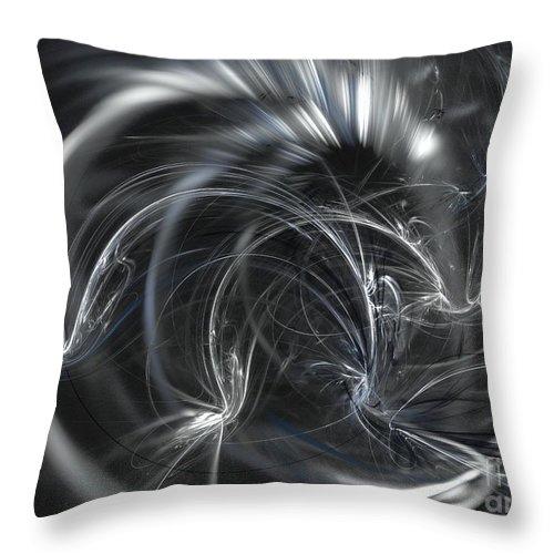 Apophysis Throw Pillow featuring the digital art Cepheus by Kim Sy Ok