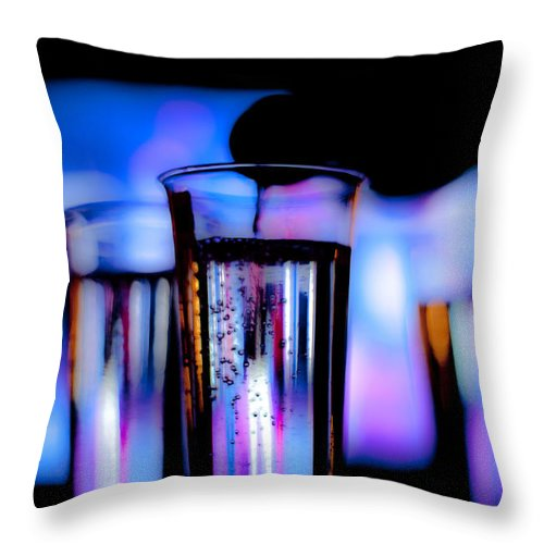Canon Throw Pillow featuring the photograph Champagne by Hakon Soreide