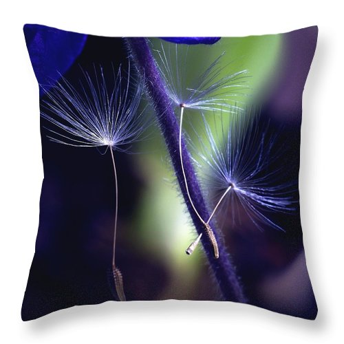 Flowers Throw Pillow featuring the photograph Chances Are... by Arthur Miller