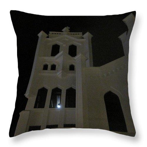 Church Throw Pillow featuring the photograph Church Light by Jan Prewett