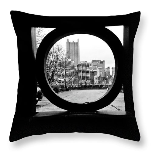 Circumference Throw Pillow featuring the photograph Circumference by Jessica Brawley