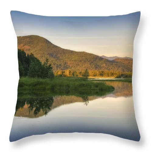 Clark Fork Throw Pillow featuring the photograph Clark Fork Delta 3 by Albert Seger