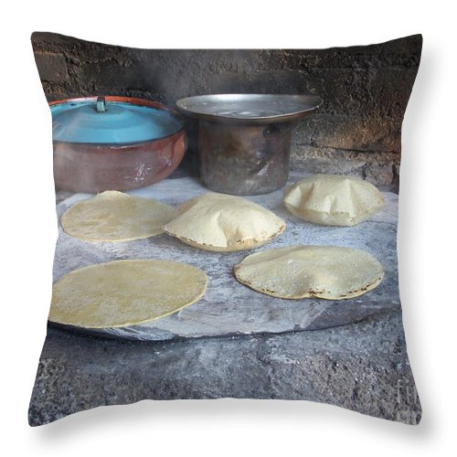 Tortilla Throw Pillow featuring the photograph Come And Get It by Yenni Harrison