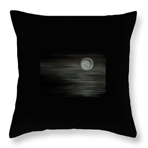 Core Throw Pillow featuring the digital art Core by BJ Crank
