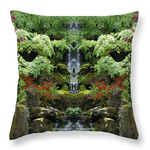Throw Pillow featuring the photograph Creation 100 by Mike Nellums