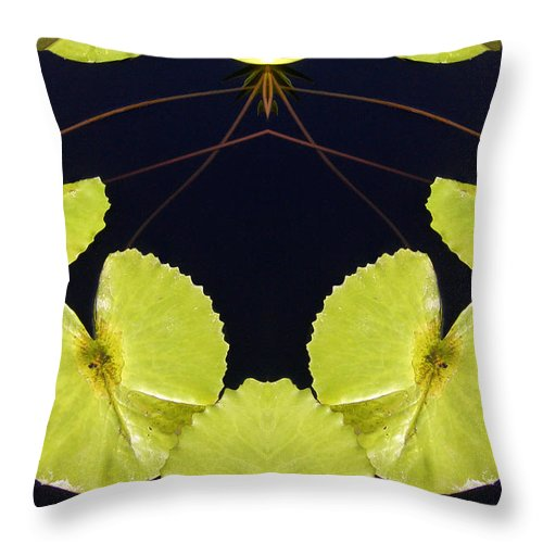 Throw Pillow featuring the photograph Creation 110 by Mike Nellums