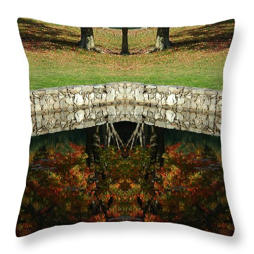 Throw Pillow featuring the photograph Creation 15 by Mike Nellums