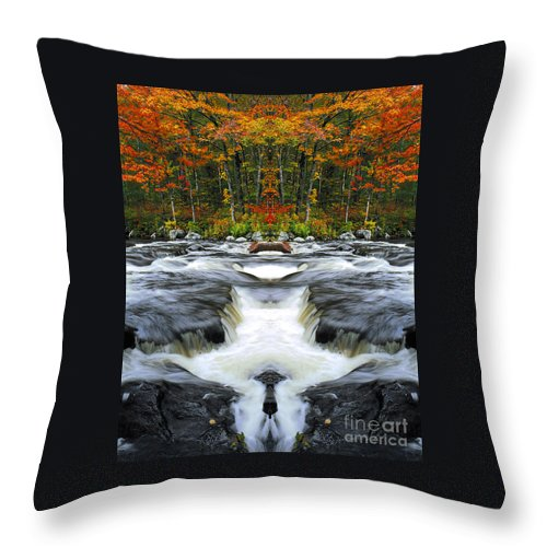 Throw Pillow featuring the photograph Creation 23 by Mike Nellums
