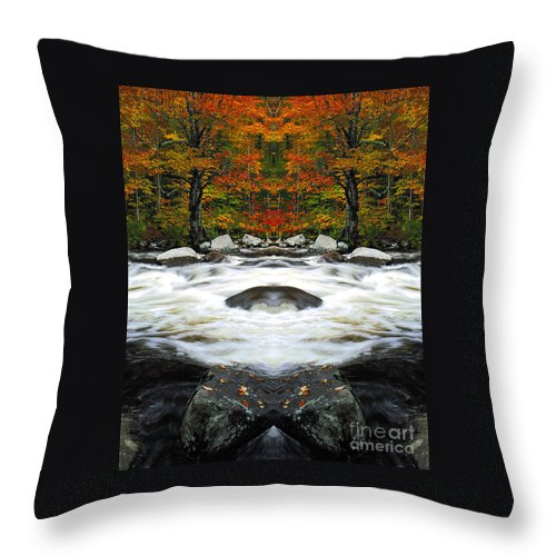 Throw Pillow featuring the photograph Creation 24 by Mike Nellums